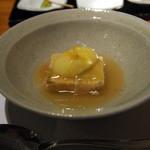 茅乃舎 - 黒豚重ね蒸し柚子餡