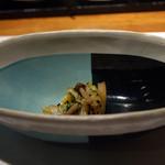 茅乃舎 - 長野おばあちゃんの逸品(白菜と占地の胡麻和え)
