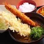 みくりやうどん - 当店一番人気のカレーうどんの定食 税込 1393円