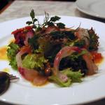 PIZZERIA CAPOLI - 鮮魚のカルパッチョ