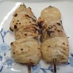 松竹 - 2012.4 テッポー塩(4串1皿500円の内2串)