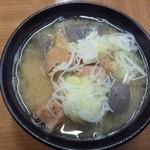 松竹 - 2012.4 煮込(500円)豚のガツを使った煮込です