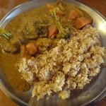 レストラン ディディ - 野菜カレー