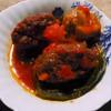 濱元 - 料理写真:ピーマン肉づめフレッシュトマト煮