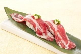 千里丘とんとん - イベリコ豚握り寿司