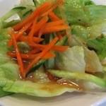 L&L ハワイアンダイニングカフェTOKYO - サラダ