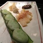 鉄板焼 むさしの 吉祥 - 春野菜の鉄板焼