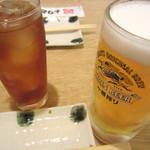 とりどーる - ドリンク写真:生中(キリン一番しぼり)¥490