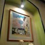 12687605 - 店内はわたせせいぞう氏の絵がいっぱい。