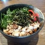 中華そば 吟 - 炙り豚飯 小