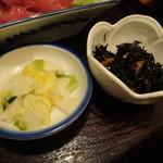 マックモア - 白菜漬&ひじき煮