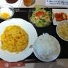 八芳亭 - 料理写真:魚翅と蛋の炒め定食