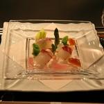 横浜 うかい亭 - コースの前菜