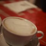 イルキャンティ・カフェ - デザートと一緒だとプラス300円でいただけるカプチーノ
