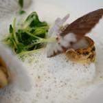 フレンチレストラン・プレジール - メイン、牡蠣とホタテの稚貝