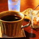 石窯パン・和みカフェ ゆるり - 有機栽培コーヒー400円