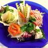 海峡 - 料理写真:【BISTRO】新鮮な魚介類のカルパッチョをビストロ風で
