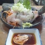 ゑびす - 料理写真:2012.4 かわはぎ刺身(380円)