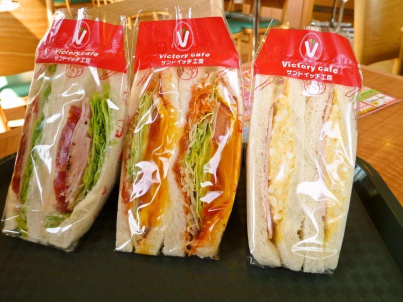 サンドイッチ工房 victory cafe 福島西店