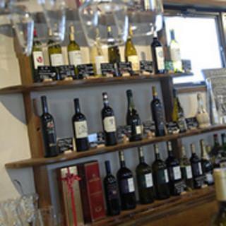 お店が提案する魅力的なワインの数々!!\(^o^)/