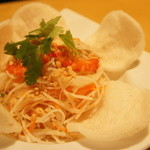 サイゴン・レストラン - 【2011.11】大根とエビのサラダ~サクサク蟹煎添え~(980円)♥