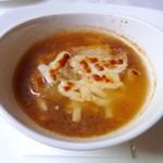 キュイエール・ダルジャン - オニオングラタンスープ
