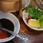 サイゴン・レストラン - 【2012.3】フォーについている薬味。