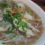 サイゴン・レストラン - 【2012.3】鶏のフォー(980円)♥澄んでいるのにコクがあるスープは、体にしみる美味しさ♪
