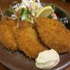 城のこし - 料理写真:鯵フライ580円