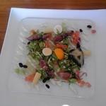 BISTRO ベルスール - 料理写真:オードブル:カルパッチョ