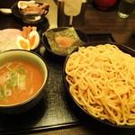 浮浪雲 - つけ麺(特盛)730円 +全部乗せ