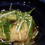 會水庵 - 胡麻豆腐とおこわのむしもの