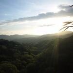 エクシブ有馬離宮 - 露天風呂から見る 日の出