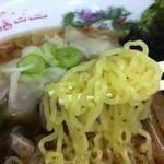 東京ラーメン本丸 - わんたん麺③