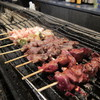 鳥料理 悠庵 - 料理写真:串盛り10本2100円焼き中