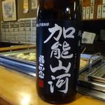 おでん 高砂 - 日本酒