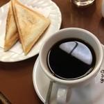 喫茶なつめ - 「喫茶なつめ」 ホットサンドセット