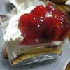 ミカワヤ - 料理写真:イチゴのタルト
