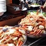 レストラン バーガンディ - 蟹も沢山ありました!