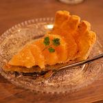 アリーカフェ - 季節のフルーツタルト(450円)この日はグレープフルーツでした。