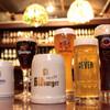 J'sベッカライ - その他写真:ドイツ樽生ビール常時6種類!期間限定の樽生ビールも入荷します。