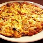 クチーナ・ボナペティ - ベーコン・ピーマン・オニオン Pizza