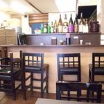どんぶり 定食の店 まる和 - カウンター席