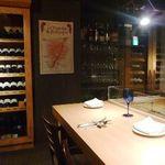 Grillかわむら - 60種類ものワインが常備されていりそうです。