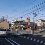 福田パン - 駐車場