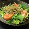 竹田屋 - 料理写真:カリカリじゃこサラダ