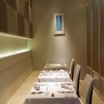 リストランテ ウミリア - 半個室もございます。