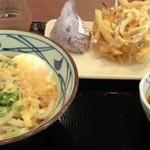 丸亀製麺 - とろ玉セット