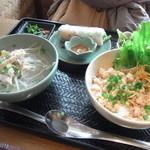 12867989 - 「本日のミニ丼とミニフォーセット」(1,500円)