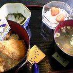 デイリー - 料理写真:ブリカツ丼(ミニ)